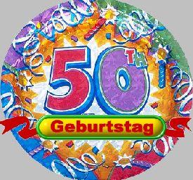 50 Geburtstag Glueckwuensche Gruesse Sprueche