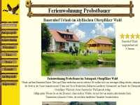 Referenzen Webdesign Ferien Urlaub Vermieter Homepage Bauernhof Landkreis Schwandorf