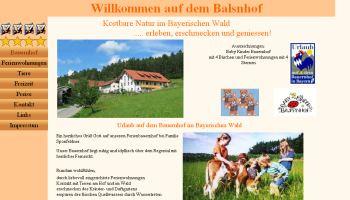 Referenzen Webdesign Ferien Urlaub Vermieter Homepage Bauernhof Urlaub Chamerau