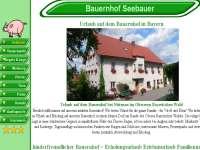 Referenzen Webdesign Ferien Urlaub Vermieter Homepage Bauernhof Urlaub Nittenau