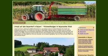Referenzen Webdesign Ferien Urlaub Vermieter Homepage Bauernhof Urlaub Oberpfalz