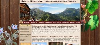 Referenzen Webdesign Ferien Urlaub Vermieter Homepage Ferienhaus Bauernhof Ernstlhof