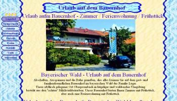 Referenzen Webdesign Ferien Urlaub Vermieter Homepage Landhotel Bayerischen Wald