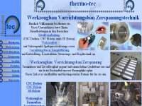 Referenzen Webdesign Firmen Homepage Gewerbe Betriebe Metall Thermo Tec