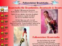 Webdesign Firmen Homepage Brautstudio Brautkleider