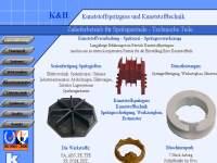 Homepageerstellung für Firmen Betriebe Dienstleistung Gewerbe - Gewerbe Kunststofftechnik