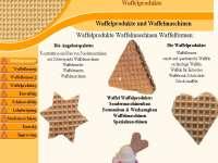 Referenzen Webdesign Firmen Homepage Gewerbe Maschinenbau Waffel Produkte