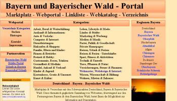 Referenzen Webdesign Portale Webportal Linkportal Bayern Portal