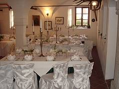 Schloß Thierlstein Festsaal Hochzeit Feier