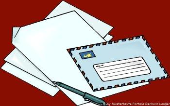 Muster Geschäftsbrief Beispiele