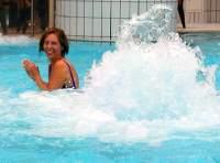 Wellness Erlebnisbad Amberg Wassersprudel